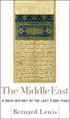The Middle East - Bernard Lewis Cover Art