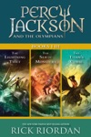 Percy Jackson And The Olympians Books I-III