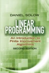 Linear Programming An Introduction To Finite Improvement Algorithms