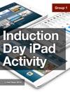 Induction Day - IPad Activity