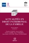 Actualits En Droit Patrimonial De La Famille