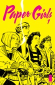 Brian K. Vaughan & Cliff Chiang - Paper Girls #1  artwork
