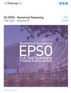 EU EPSO - Numerical Reasoning Full Test - Volume 01