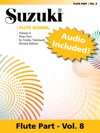 Suzuki Flute School - Volume 8 Revised
