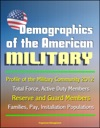 Demographics Of The American Military Profile Of The Military Community 2012 - Total Force Active Duty Members Reserve And Guard Members Families Pay Installation Populations