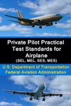 Private Pilot Practical Test Standards For Airplane SEL MEL SES MES