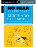 Much Ado About Nothing (No Fear Shakespeare) - SparkNotes Cover Art