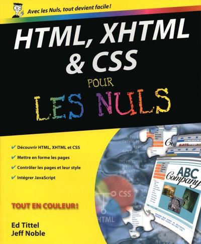 HTML XHTML et les CSS Pour les nuls