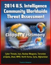 2014 US Intelligence Community Worldwide Threat Assessment Clapper Testimony Cyber Threats Iran Nuclear Weapons Terrorism Al-Qaida Jihad WMD North Korea Syria Afghanistan