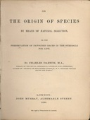 On The Origin of Species 1st Edition