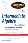 Schaums Outline Of Intermediate Algebra Second Edition