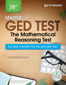 Master the GED Test: The Mathematics Reasoning Test