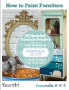How To Paint Furniture 19 Upcycled Furniture Projects Free EBook From DecoArt