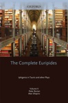 The Complete Euripides Volume II Iphigenia In Tauris And Other Plays