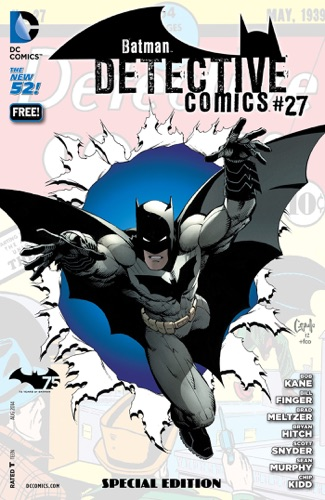 Detective Comics 27 Special Edition Batman 75 Day Comic 2014 2014-  1