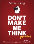 Don't Make Me Think, Revisited - Steve Krug Cover Art