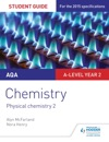 AQA A-level Year 2 Chemistry Student Guide Physical Chemistry 2