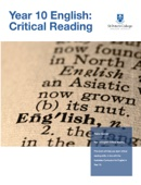 Year 10 English: Critical Reading