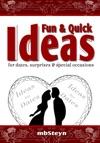 Fun  Quick Ideas Dates Surprises  Special Occasions