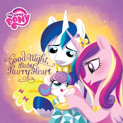 My Little Pony Good Night Baby Flurry Heart