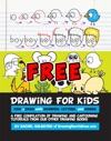 Drawing For Kids How To Draw Cartoons With Letters Numbers And Words