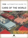 1958 Automotive Guide To Cars Of The World