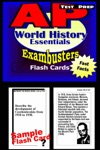 AP World History Test Prep Review--Exambusters Flash Cards