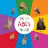 ABC Animals For Kids Age 1-3 Engage Early Readers Childrens Learning Books
