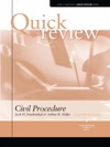 Miller And Friedenthals Sum And Substance Quick Review On Civil Procedure 7th