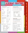 Algebraic Equations Speedy Study Guides