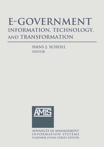E-Government Information Technology and Transformation