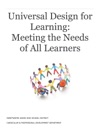 Universal Design For Learning Meeting The Needs Of All Learners