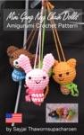 Mini Gang Key Chain Dolls - Amigurumi Crochet Pattern