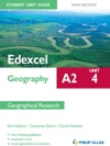 Edexcel A2 Geography Student Unit Guide New Edition Unit 4 Contemporary Geographical Issues