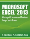 Microsoft Excel 2013 Working With Formulas And Functions Using A Touch Screen