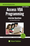 Access VBA Programming Interview Questions Youll Most Likely Be Asked
