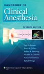 Handbook Of Clinical Anesthesia Seventh Edition