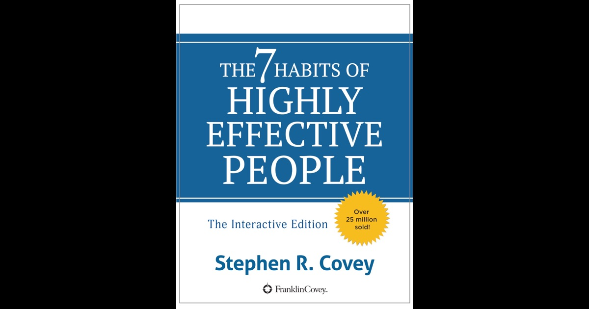 7 habits of highly ineffective people 1 summary of stephen r covey's 7 habits of highly effective people source: quick mba management, knowledge to power your business.