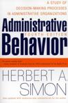 Administrative Behavior 4th Edition
