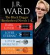 JR Ward The Black Dagger Brotherhood Novels 1-4