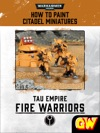 How To Paint Citadel Miniatures Fire Warriors Tablet Edition