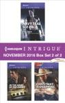 Harlequin Intrigue November 2016 - Box Set 2 Of 2