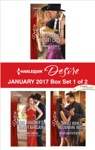 Harlequin Desire January 2017 - Box Set 1 Of 2