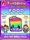 How To Draw  Color Fancy Food - Fun2draw Lv 3