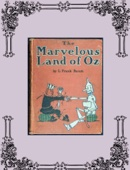The Marvelous Land of Oz - L. Frank Baum Cover Art