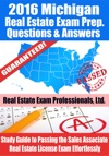 2016 Michigan Real Estate Exam Prep Questions And Answers