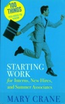 100 Things You Need To Know Starting Work
