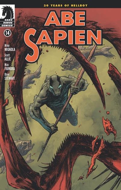 Abe Sapien #14 by Mike Mignola on iBooks