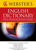Webster's American English Dictionary (with pronunciation guides) - Alice Grandison Cover Art
