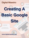 Creating A Basic Google Site